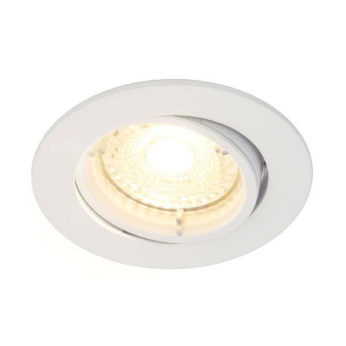Nordlux Carina Smart Light Three Pack Tilt White Round Recessed Downlight
