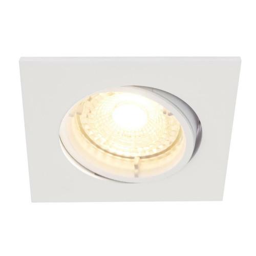 Nordlux Carina Smart Light Three Pack Tilt White Square Recessed Downlight