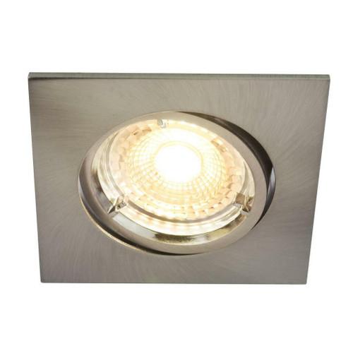 Nordlux Carina Smart Light Three Pack Tilt Nickel Square Recessed Downlight