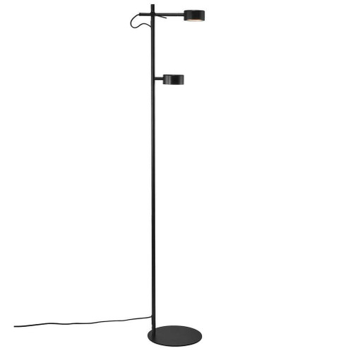 Nordlux Clyde 2 Light Black Floor Lamp