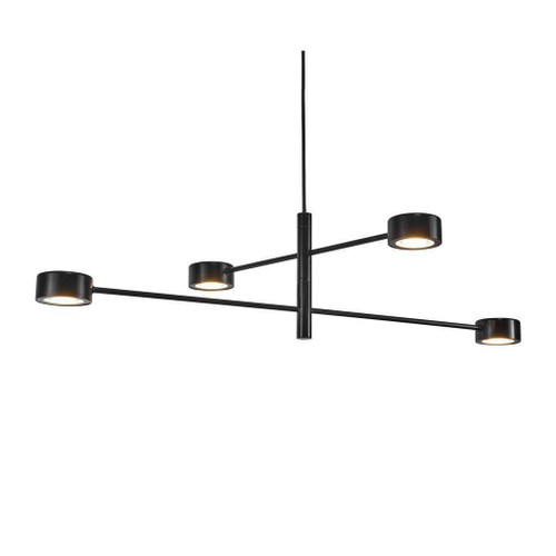 Nordlux Clyde 4 Light Black Pendant Light