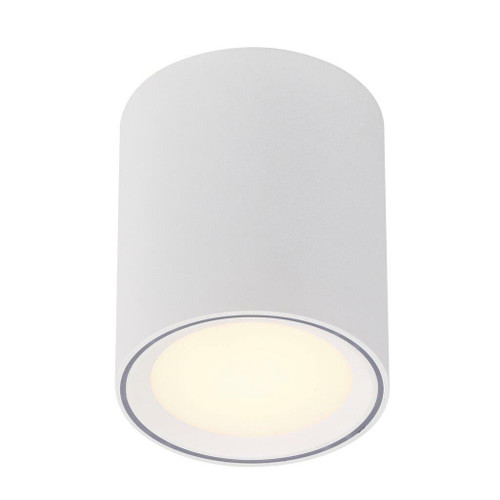 Nordlux Fallon Long White with White Trim Surface Ceiling Light