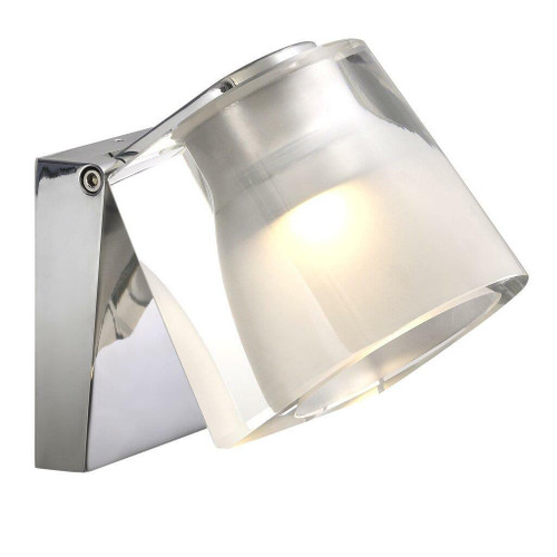 Nordlux IP S12 Chrome Adjustable Bathroom IP44 Wall Light