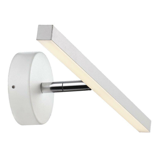 Nordlux IP S13 40 LED White Picture and Bathroom IP44 Mirror Wall Light