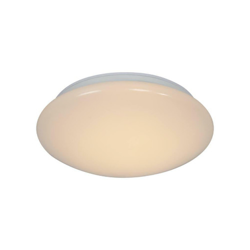Nordlux Montone 25 White with White Glass Ceiling Light