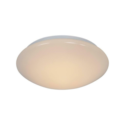 Nordlux Montone 30 White with White Glass Ceiling Light