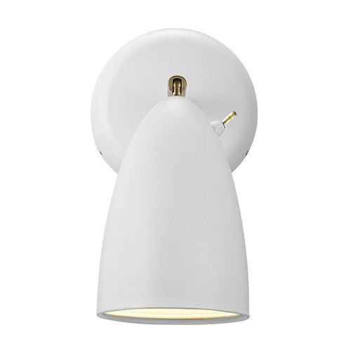 DFTP Nexus White Adjustable Wall Light