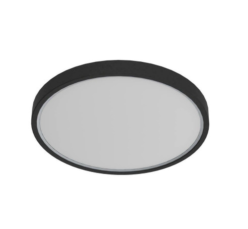 Nordlux Noxy IP44 3000K/4000K Black Ceiling Light