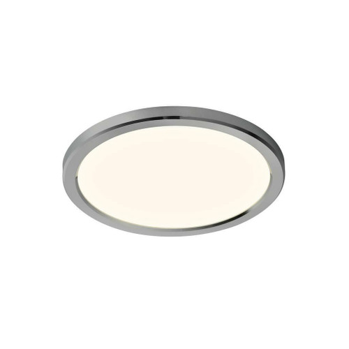 Nordlux Oja 29 IP54 BATH 3000K/4000K Chrome with White Glass Ceiling Light