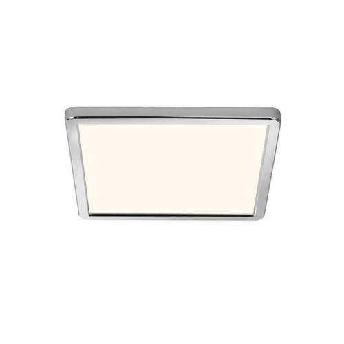 Nordlux Oja 29x29 IP54 BATH 3000K/4000K Chrome with White Glass Ceiling Light