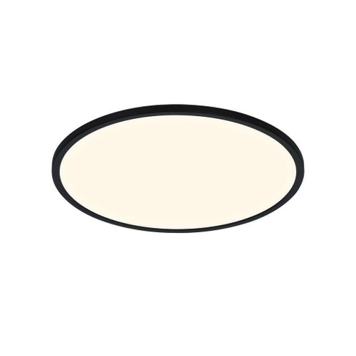 Nordlux Oja 42 IP54 BATH 3000K/4000K Black Ceiling Light