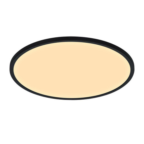 Nordlux Oja 60 IP20 2700K 3-Step Dimmable Black Ceiling Light