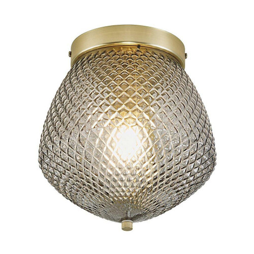 Nordlux Orbiform Brass with Smoked Glass Ceiling Light