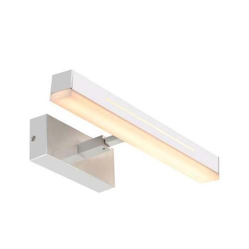 Nordlux Otis 40 Small Chrome Aluminium Wall Light