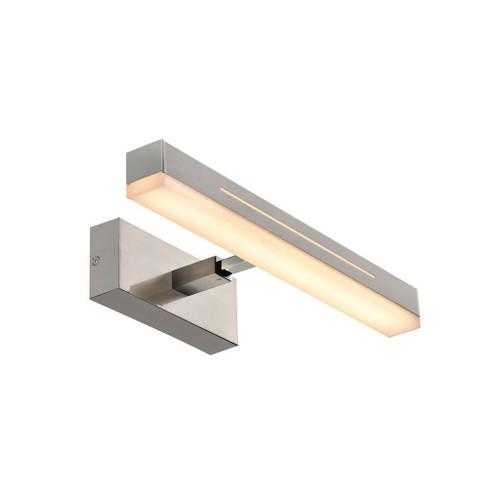 Nordlux Otis 40 Small Brushed Nickel Aluminium Wall Light