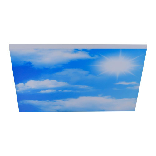 Leuchten Direkt CLOUD 59.5cm Sky Panel Remote Control Dimmable LED Wall or Ceiling Light