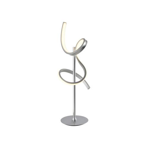 Leuchten Direkt CURLS Silver LED Table Lamp