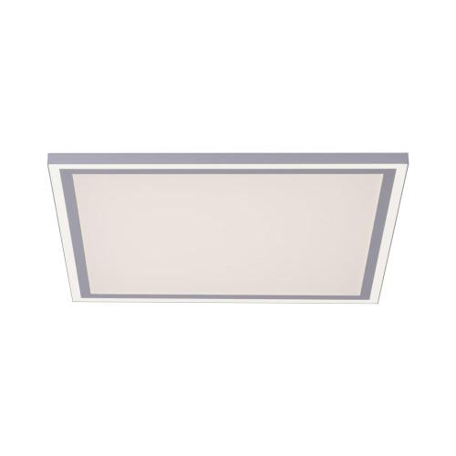 Leuchten Direkt EDGING 2 Light 46.4cm White Remote Control Dimmable Ceiling Light