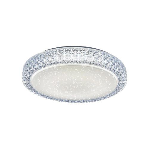 Leuchten Direkt FRIDA 40cm Sparkle and Crystal Effect Ceiling Light