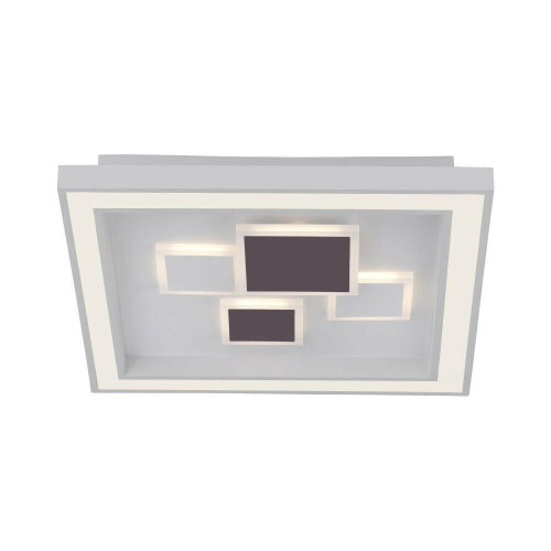 Paul Neuhaus ELIZA White Square LED Ceiling Light