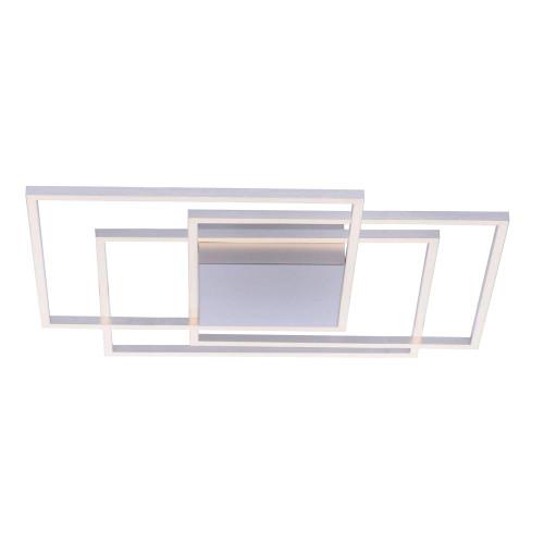 Paul Neuhaus INIGO 3 Light Satin Chrome Dimmable Ceiling Light