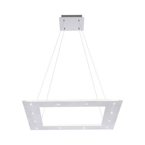 Paul Neuhaus PURE-COSMO Aluminium 50x50cm Square Dimmable LED Pendant Light
