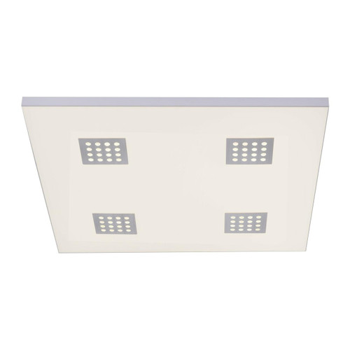 Paul Neuhaus PURE-NEO 62x62cm Aluminium Dimmable Wall or Ceiling Light