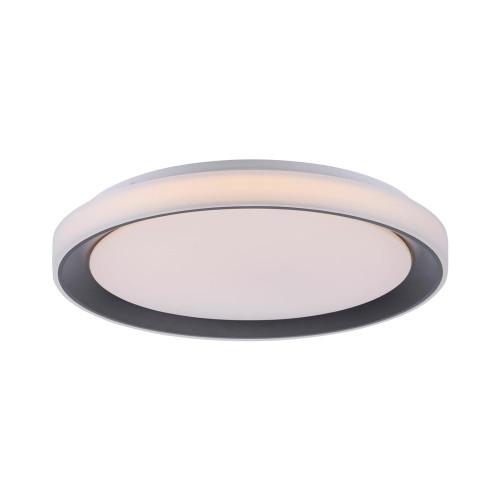 Leuchten Direkt Ls-DISC Black Dimmable Colour Change Ceiling light
