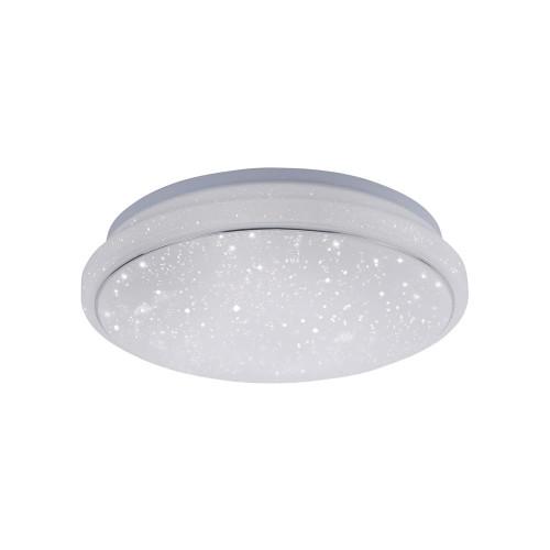 Leuchten Direkt Ls-JUPI 35cm Starry Sky Dimmable White Ceiling Light