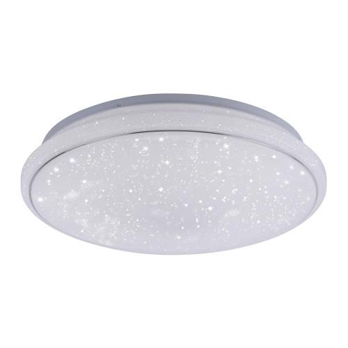 Leuchten Direkt Ls-JUPI 44cm Starry Sky Dimmable White Ceiling Light