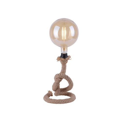 Leuchten Direkt ROPE Black with Rope Table Lamp