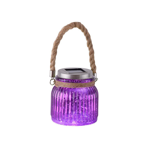 Leuchten Direkt SOLAR Purple-Violet Solar Outdoor Garden Light