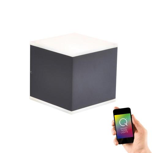 Paul Neuhaus Q-ALBERT 2 Light Anthracite Up/Down Smart IP65 Outdoor LED Wall Light