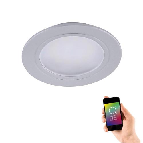 Paul Neuhaus Q-ELLI Aluminium Smart LED Recessed Downlight