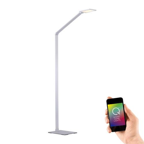 Paul Neuhaus Q-HANNES Aluminium Smart LED Floor Lamp