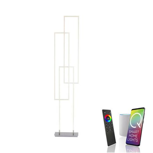 Paul Neuhaus Q-INIGO 3 Aluminium Smart LED Floor Lamp