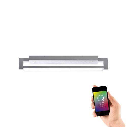 Paul Neuhaus Q-MATTEO Aluminium Smart LED Wall or Ceiling Light