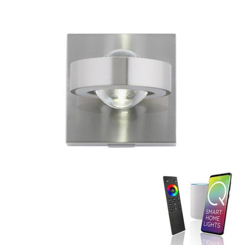 Paul Neuhaus Q-MIA Aluminium Adjustable Smart LED Wall Light