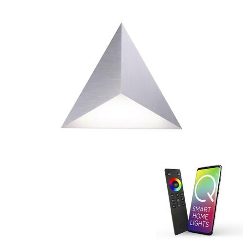 Paul Neuhaus Q-TETRA Aluminium Master Smart LED Wall or Ceiling Light