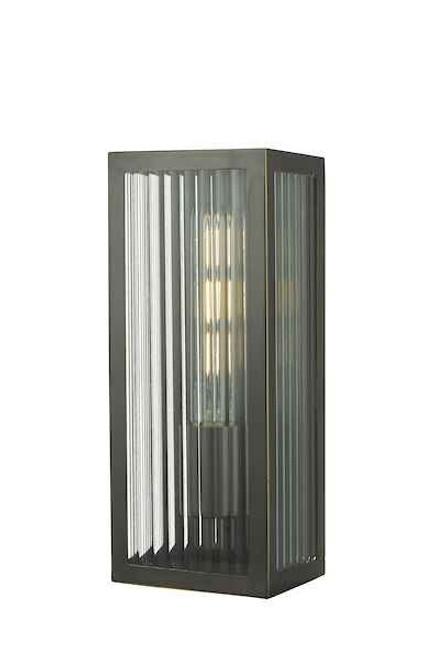 Keegan Rubbed Bronze Small IP44 Bathroom Wall Light