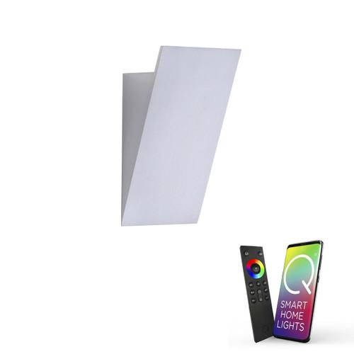 Paul Neuhaus Q-WEDGE Aluminium Smart LED Wall Light