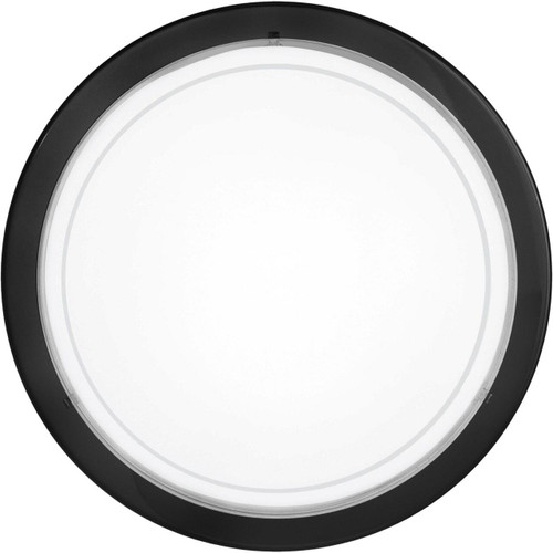 Eglo Lighting Planet 1 Black and White Wall and Ceiling Light