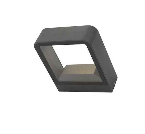 Malone Square Anthracite IP65 LED Outdoor Wall Light