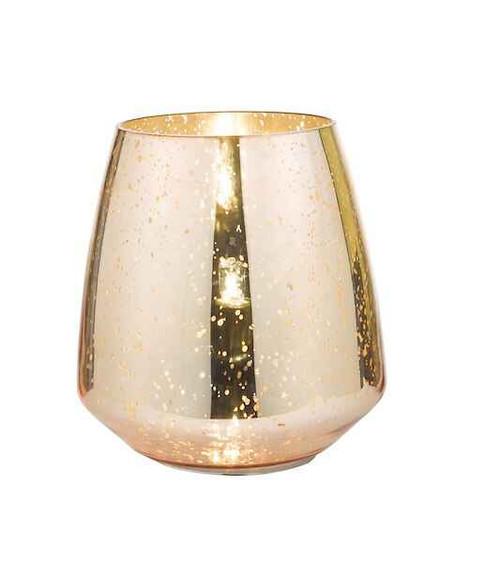 Neno Antique Copper and Mirror Table Lamp