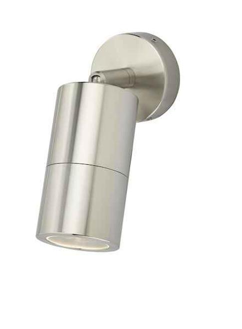 Ortega 1 Light Aluminium IP65 Wall Light
