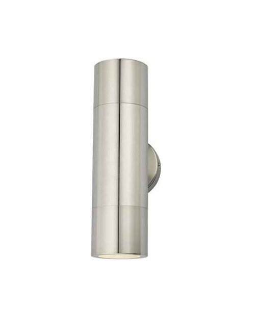Ortega 2 Light Aluminium IP65 Wall Light