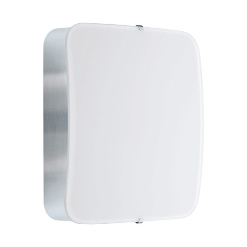 Eglo Lighting Cupella Chrome with White Shade Wall and Ceiling Light