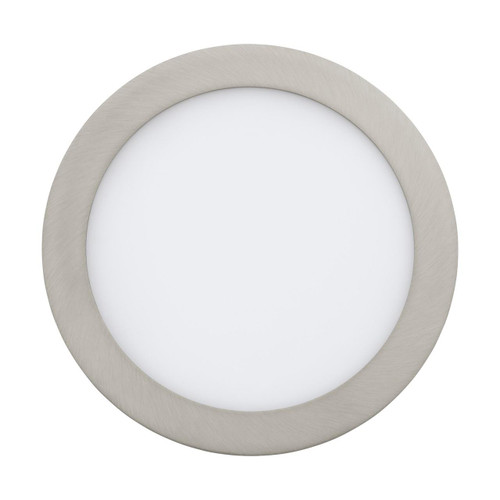 Eglo Lighting Fueva-C 225 Satin Nickel with White Shade LED RGB Recessed Light