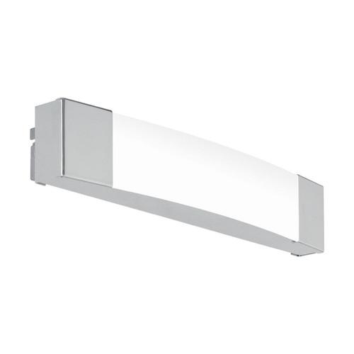 Eglo Lighting Siderno 350 Chrome with Satin Shade Wall Light
