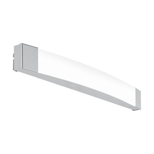 Eglo Lighting Siderno 580 Chrome with Satin Shade Wall Light